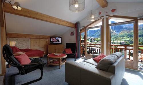 Location au ski Appartement duplex 3 pièces 5 personnes - Chalet Iris - Saint Martin de Belleville - Canapé