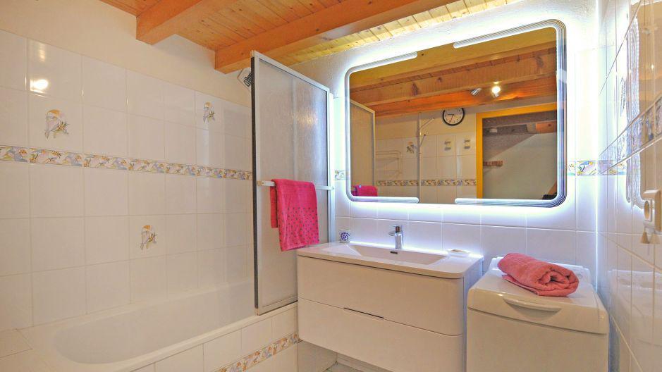 Location au ski Appartement duplex 3 pièces 5 personnes - Chalet Iris - Saint Martin de Belleville - Salle de bains