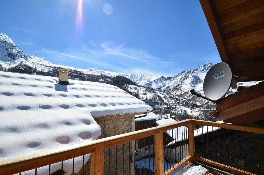 Location au ski Chalet 6 pièces 10-12 personnes - Chalet l'Etable - Saint Martin de Belleville - Extérieur hiver