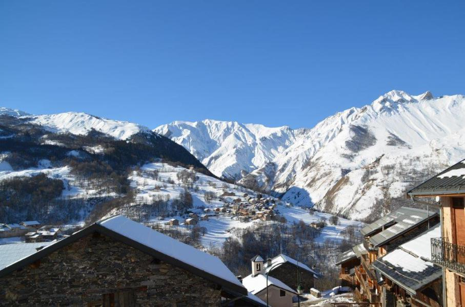 Vacances en montagne Chalet la Tarine - Saint Martin de Belleville - Extérieur hiver