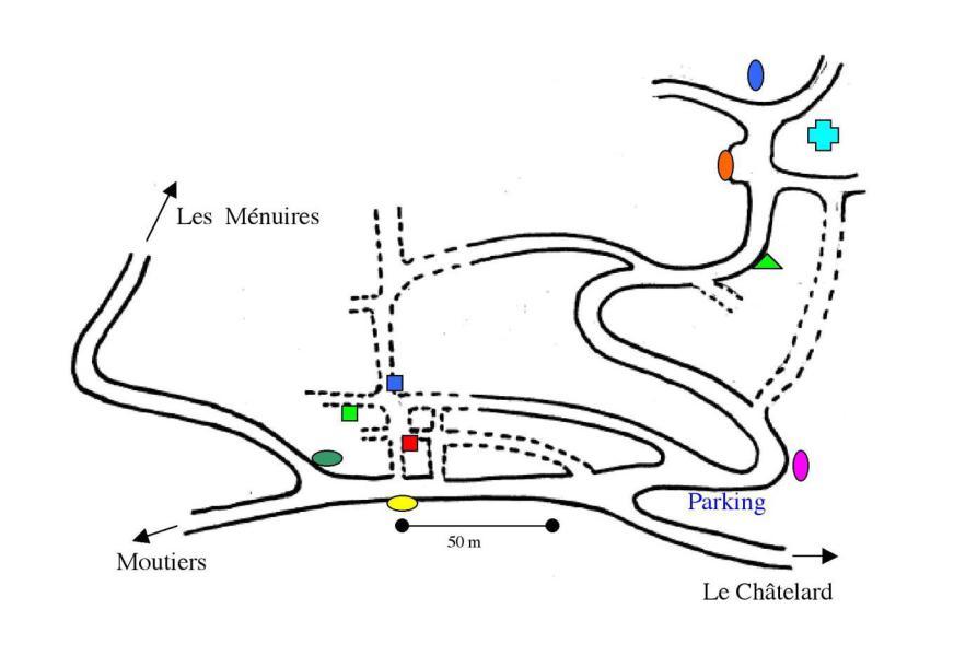 Location au ski Studio 2 personnes - Chalet le Dahu - Saint Martin de Belleville