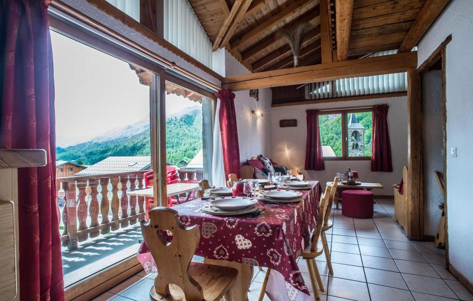 Location au ski Chalet Loutantin - Saint Martin de Belleville - Table