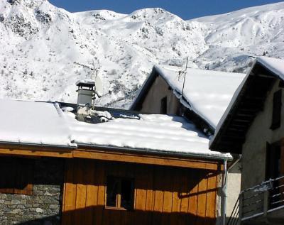 Location au ski Chalet Marmottes - Saint Martin de Belleville - Extérieur hiver