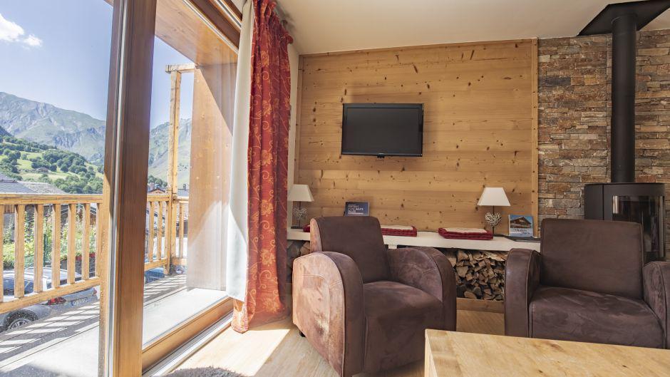 Аренда на лыжном курорте Chalet Marmottes - Saint Martin de Belleville - Балкон