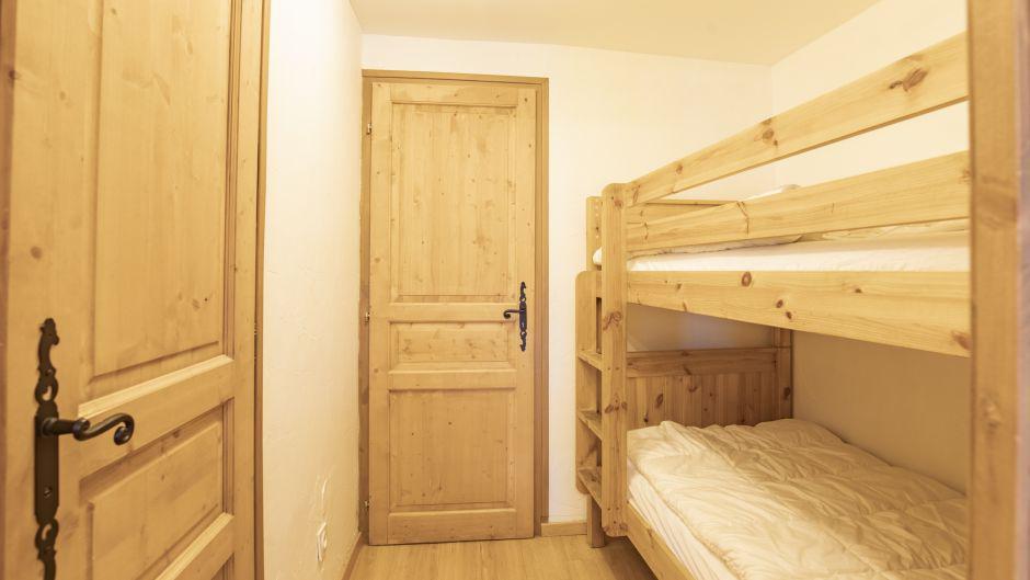 Аренда на лыжном курорте Chalet Marmottes - Saint Martin de Belleville - Двухъярусные кровати
