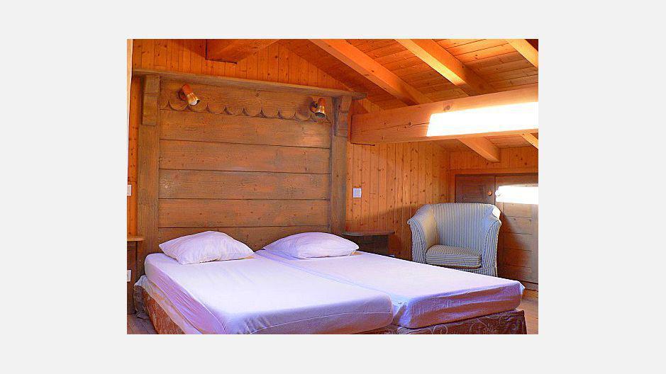 Location au ski Chalet triplex 4 pièces 6 personnes - Chalet Marmottes - Saint Martin de Belleville - Lits twin