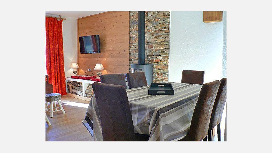 Location au ski Chalet triplex 4 pièces 6 personnes - Chalet Marmottes - Saint Martin de Belleville - Séjour