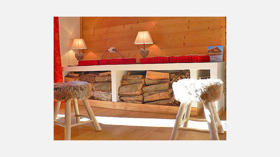 Location au ski Chalet triplex 4 pièces 7 personnes - Chalet Marmottes - Saint Martin de Belleville - Séjour
