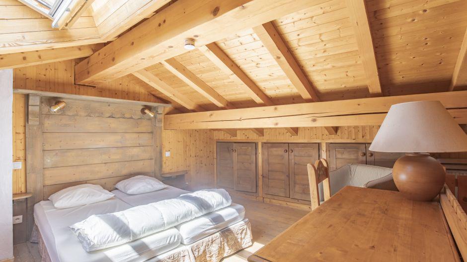 Аренда на лыжном курорте Chalet Marmottes - Saint Martin de Belleville - Двухспальная кровать