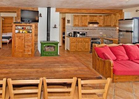 Location au ski Appartement 5 pièces 8 personnes - Chalet Mimosa - Saint Martin de Belleville - Table