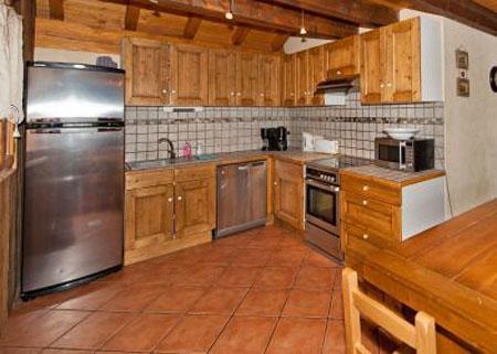 Location au ski Appartement duplex 6 pièces 10 personnes - Chalet Mimosa - Saint Martin de Belleville - Cuisine