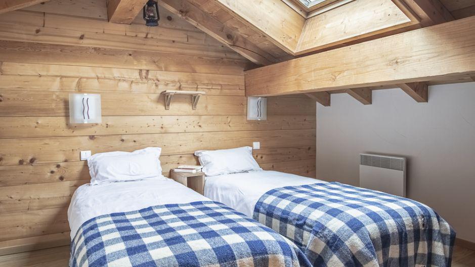 Location au ski Chalet Mimosa - Saint Martin de Belleville - Lits twin