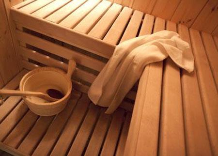 Location au ski Appartement duplex 6 pièces 10 personnes - Chalet Mimosa - Saint Martin de Belleville - Sauna