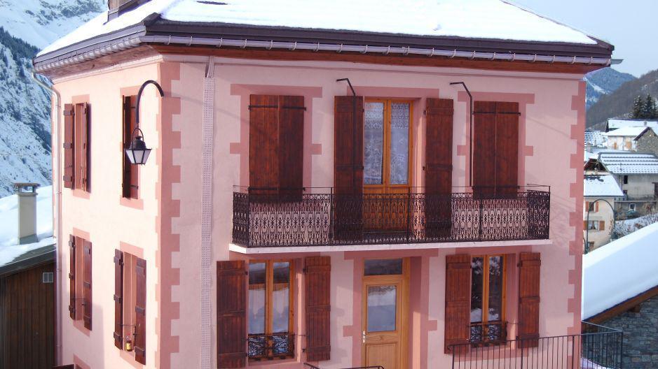 Vacances en montagne Chalet Oursons - Saint Martin de Belleville - Extérieur hiver