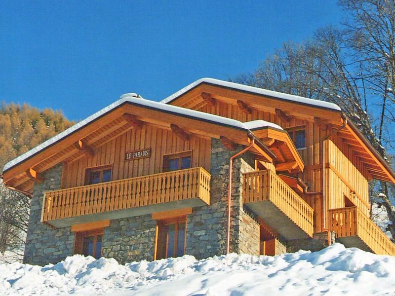 Holiday in mountain resort Chalet Paradis de St Martin - Saint Martin de Belleville - Winter outside