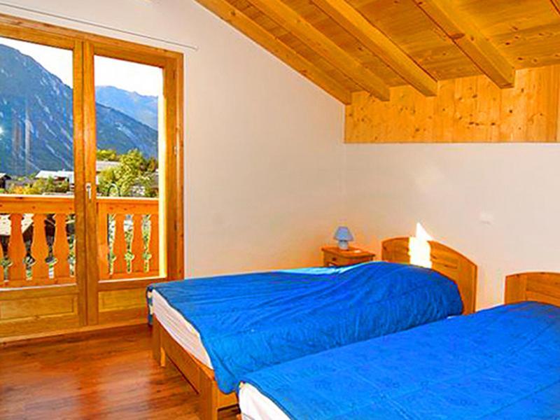 Location au ski Chalet Paradis de St Martin - Saint Martin de Belleville - Chambre mansardée