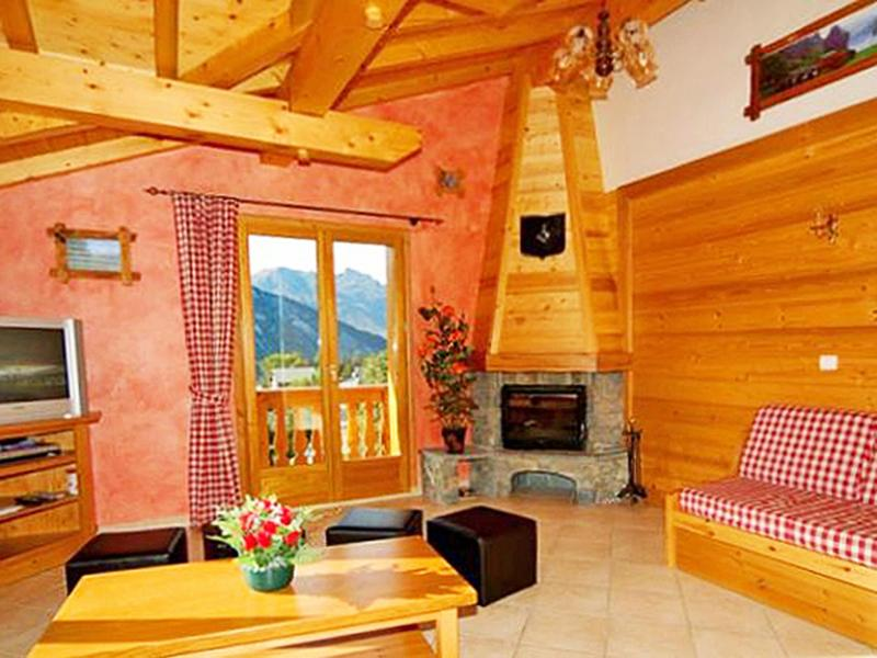 Location au ski Chalet Paradis de St Martin - Saint Martin de Belleville - Cheminée