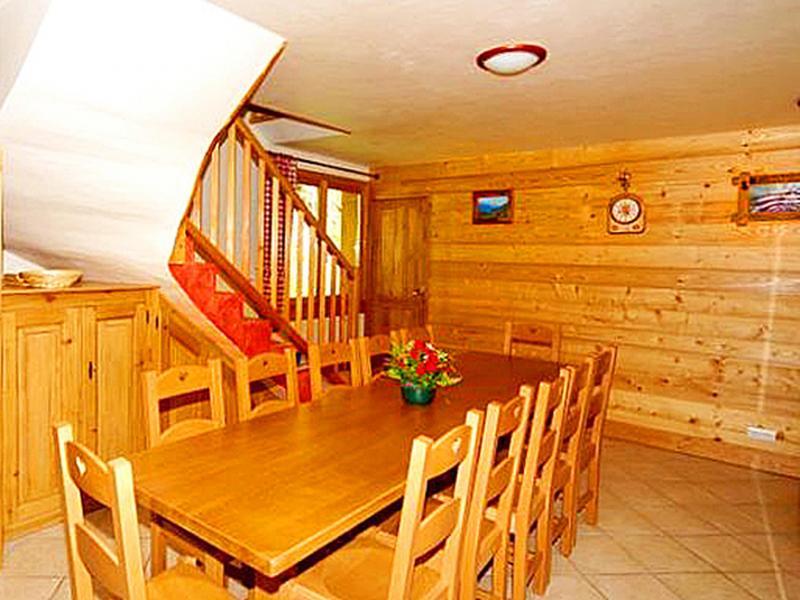 Location au ski Chalet Paradis de St Martin - Saint Martin de Belleville - Coin repas