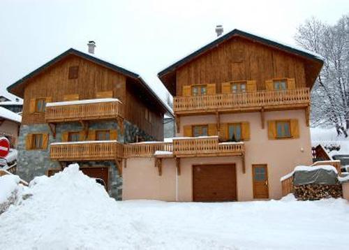 Vacances en montagne Chalet 11 pièces 22 personnes (1) - Chalet Paulo - Saint Martin de Belleville - Extérieur hiver