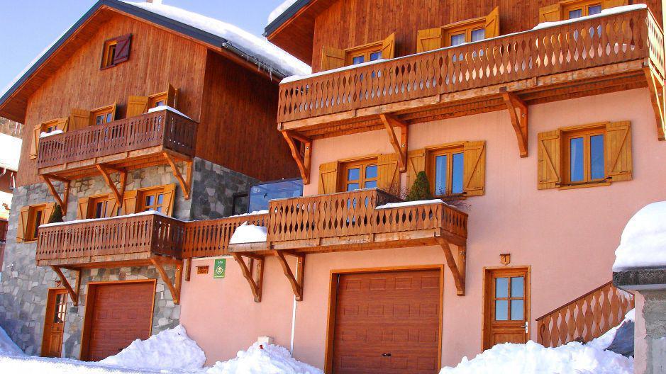 Landhaus Chalet Paulo - Saint Martin de Belleville - Nordalpen