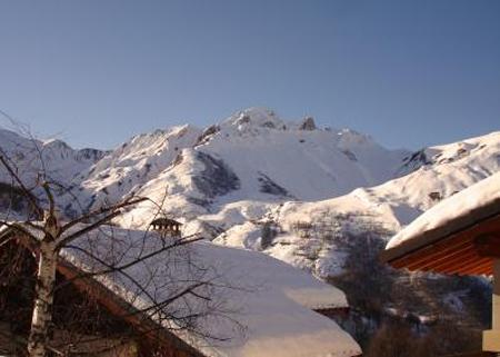 Vacances en montagne Chalet Paulo - Saint Martin de Belleville - Extérieur hiver