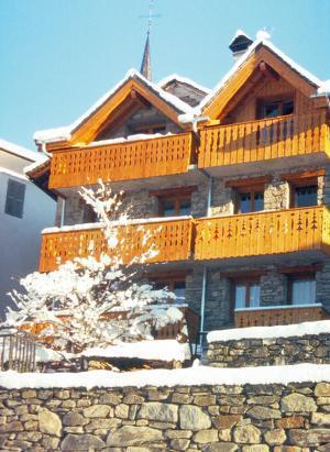 Location au ski Chalet triplex 5 pièces 10 personnes - Chalet Pépé Martin - Saint Martin de Belleville - Extérieur hiver