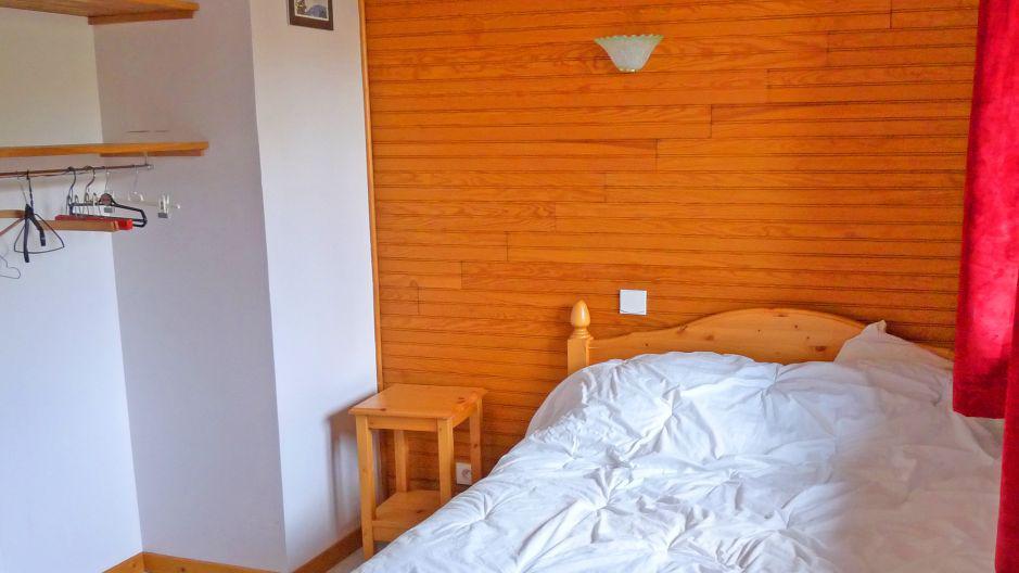 Skiverleih Chalet Pépé Martin - Saint Martin de Belleville - Schlafzimmer