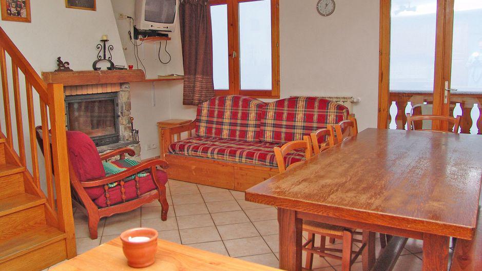 Location au ski Chalet Pépé Martin - Saint Martin de Belleville - Séjour