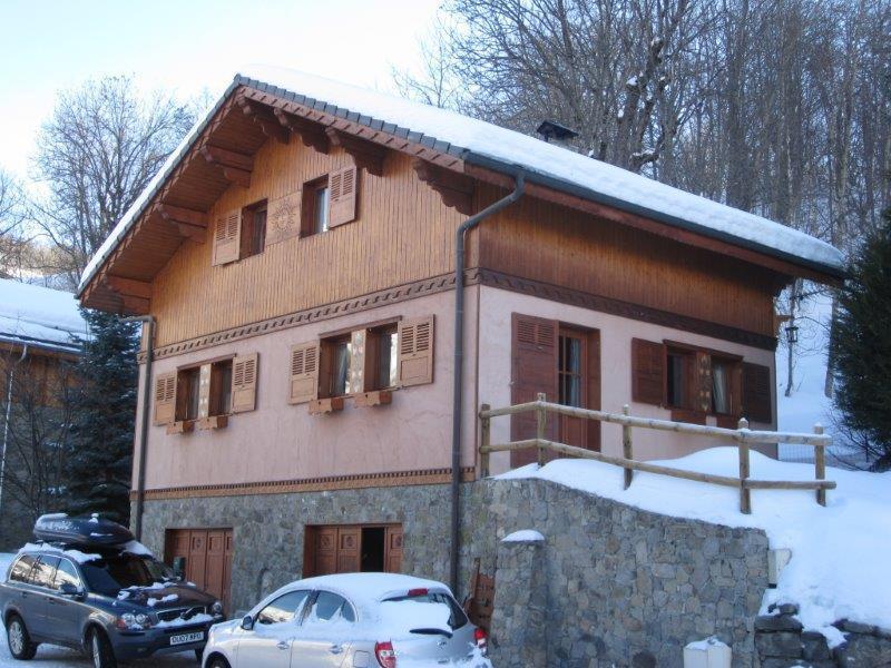 Vakantie in de bergen Chalet Pierre - Upton - Saint Martin de Belleville - Buiten winter