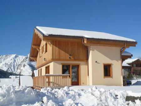 Urlaub in den Bergen Chalet Saint Marc - Saint Martin de Belleville - Draußen im Winter