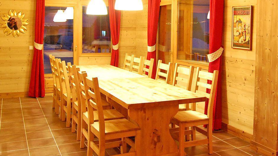Alquiler al esquí Chalet Saint Marc - Saint Martin de Belleville - Comedor
