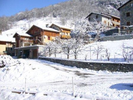 Location au ski Chalet 3 pièces 4 personnes (Bottepa) - Chalets les Varcins - Saint Martin de Belleville - Extérieur hiver