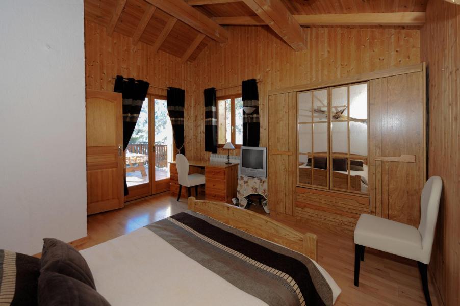 Location au ski Chalet 7 pièces 12 personnes (lelys) - Chalets les Varcins - Saint Martin de Belleville - Chambre