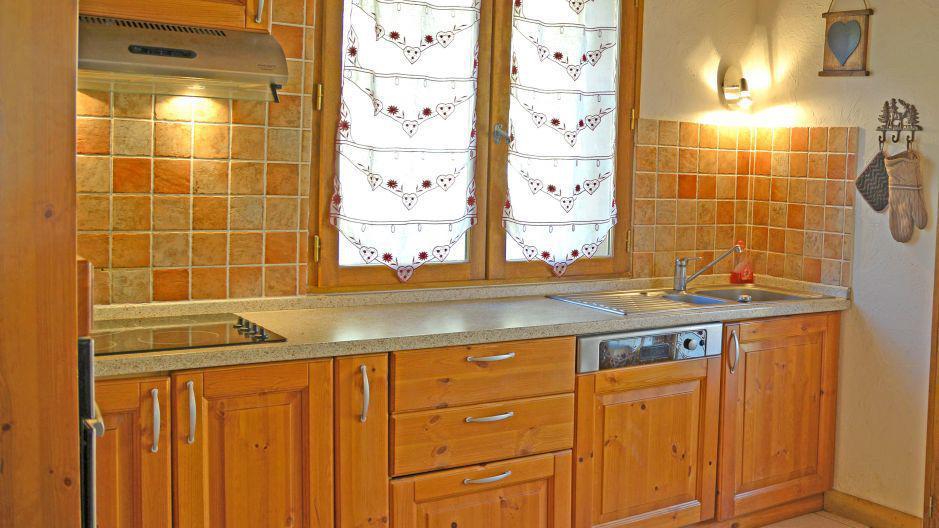 Soggiorno sugli sci Chalets Violettes - Saint Martin de Belleville - Cucina