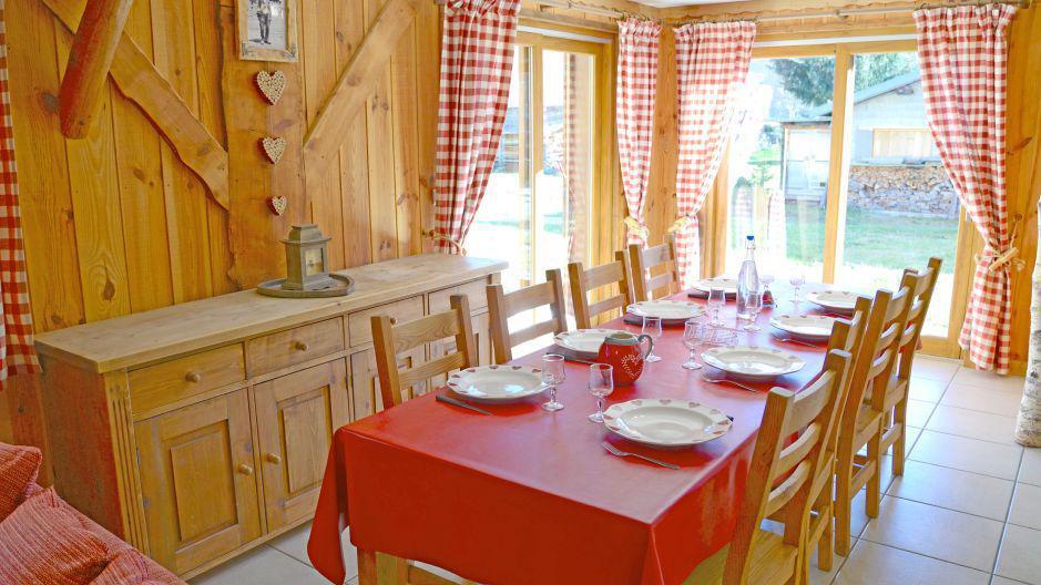 Soggiorno sugli sci Chalets Violettes - Saint Martin de Belleville - Sala da pranzo