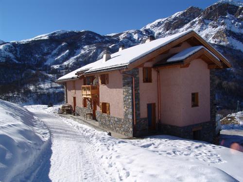 Urlaub in den Bergen Le Chalet Mimosa - Saint Martin de Belleville - Draußen im Winter