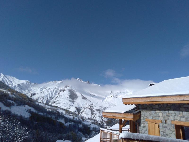 Каникулы в горах Le Hameau de Caseblanche - Saint Martin de Belleville - зимой под открытым небом