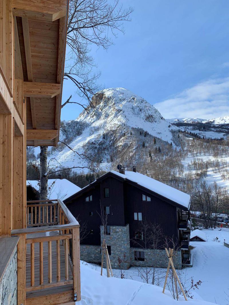 Каникулы в горах Шале триплекс 5 комнат 8 чел. (Pomme de Pin) - Le Hameau de Caseblanche - Saint Martin de Belleville - зимой под открытым небом
