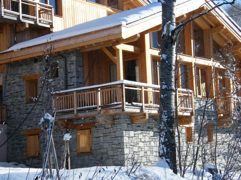 Каникулы в горах Шале триплекс 4 комнат 6 чел. (Carcosa) - Le Hameau de Caseblanche - Saint Martin de Belleville - зимой под открытым небом