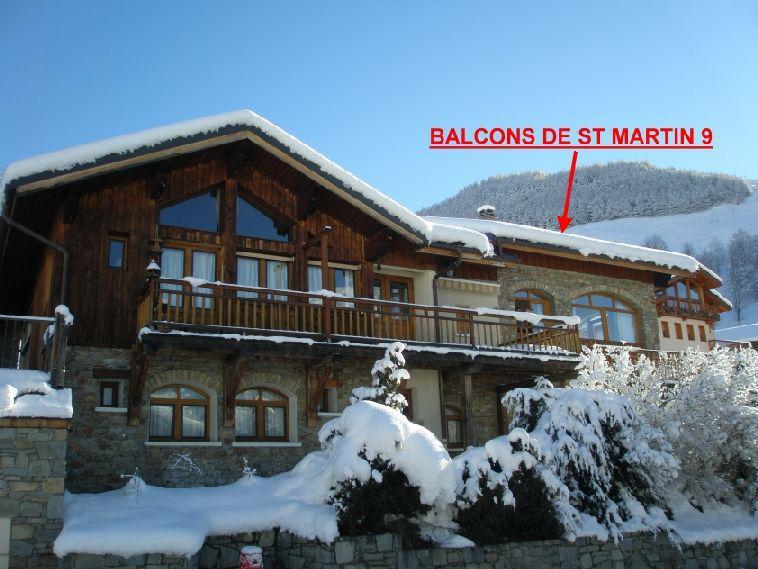 Wynajem na narty Les Balcons de St Martin - Saint Martin de Belleville