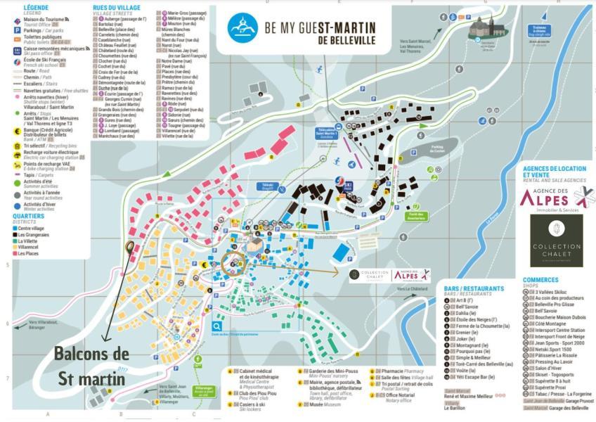 Landhaus Les Balcons de St Martin - Saint Martin de Belleville - Nordalpen