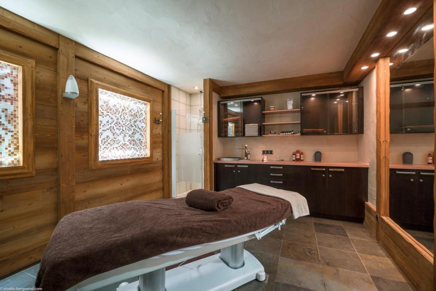 Location au ski Les Chalets du Gypse - Saint Martin de Belleville - Massage