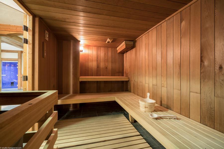 Skiverleih Les Chalets du Gypse - Saint Martin de Belleville - Sauna