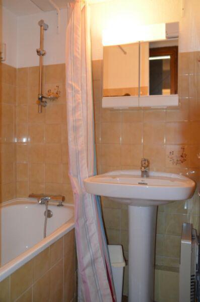 Location au ski Studio 2 personnes (2) - Résidence Biollay - Saint Martin de Belleville - Salle de bains