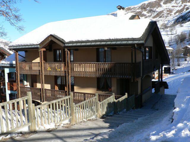 Wakacje w górach Résidence Charmettes - Saint Martin de Belleville - Zima na zewnątrz