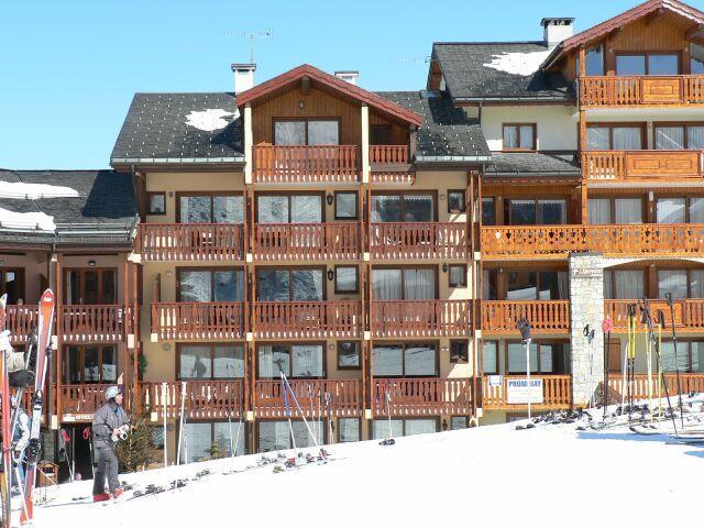 Location au ski Résidence l'Epervière - Saint Martin de Belleville - Extérieur hiver