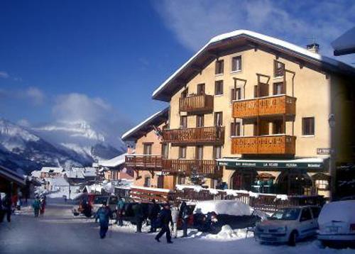 Location au ski Résidence la Voute - Saint Martin de Belleville - Extérieur hiver