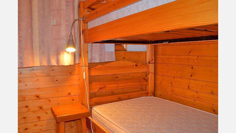 Location au ski Appartement 3 pièces 4 personnes (2) - Résidence la Voute - Saint Martin de Belleville - Lits superposés