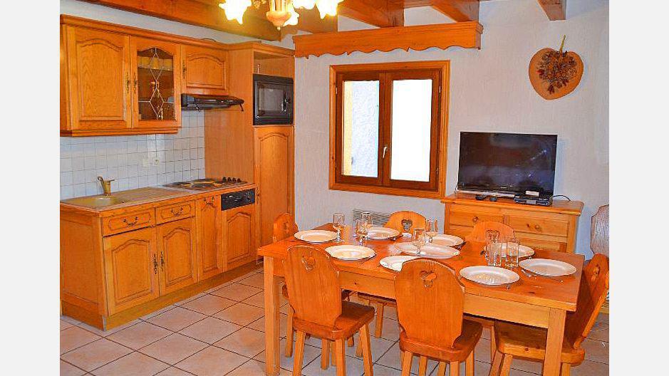 Location au ski Appartement duplex 4 pièces 6 personnes (3) - Résidence la Voute - Saint Martin de Belleville - Cuisine ouverte
