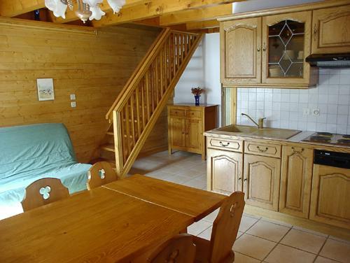 Location au ski Appartement duplex 4 pièces 8 personnes (3) - Résidence la Voute - Saint Martin de Belleville - Coin repas
